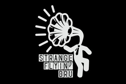 Strange flying blu